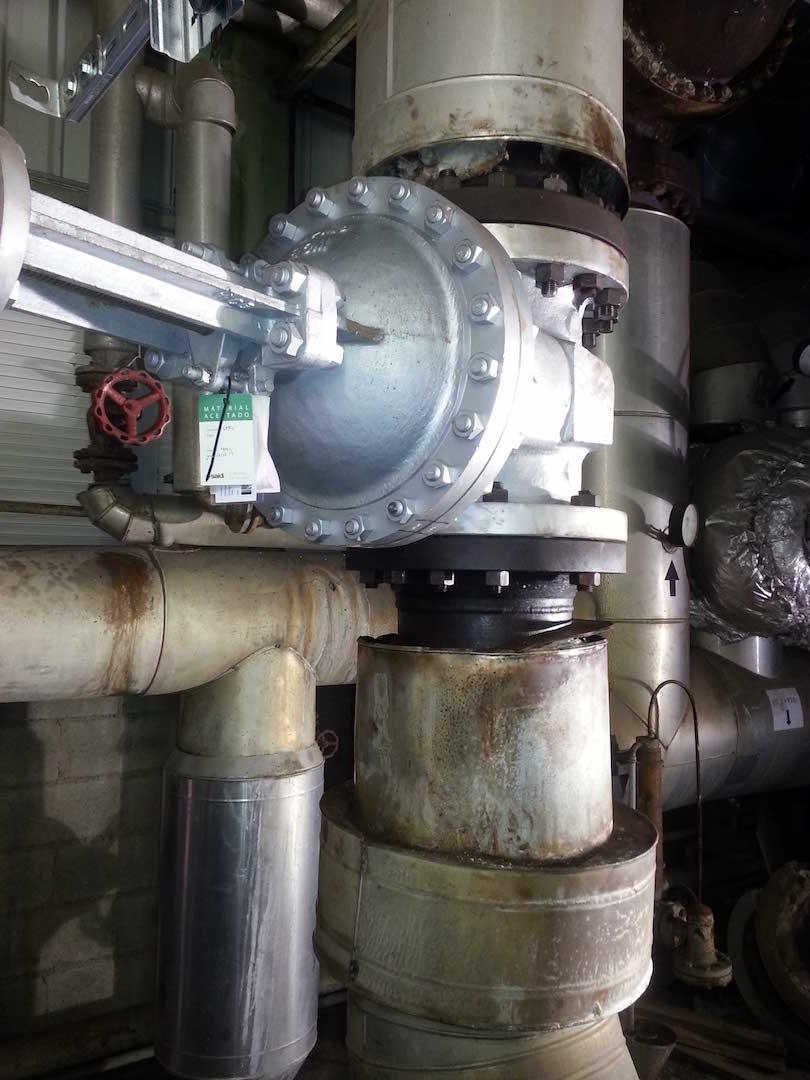 Cambio de Valvulería y Adecuación de Tuberías en Planta de Energía