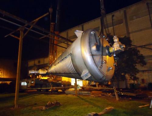 Fabricación y Montaje de Estructura y Reactor de Cacao