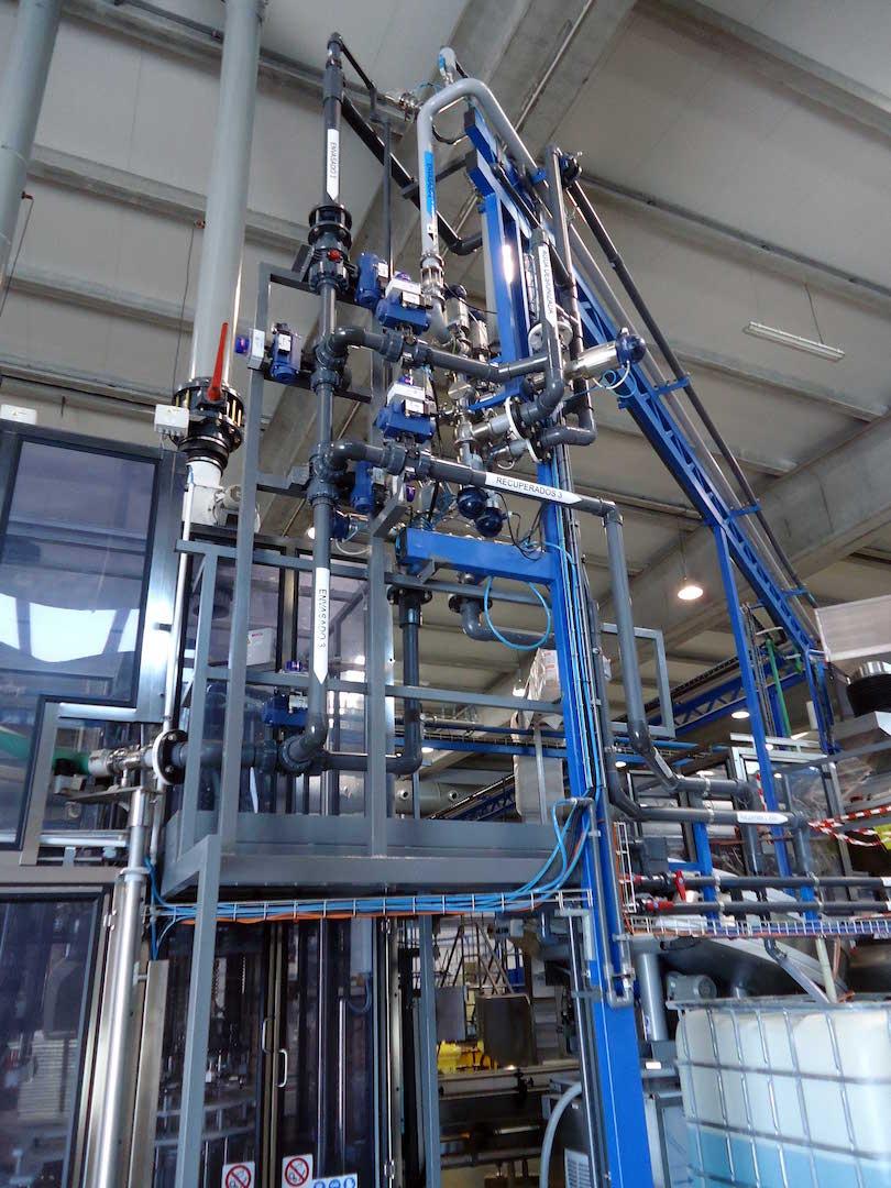Diseño y Montaje de Instalación de Planta de Producto Químico