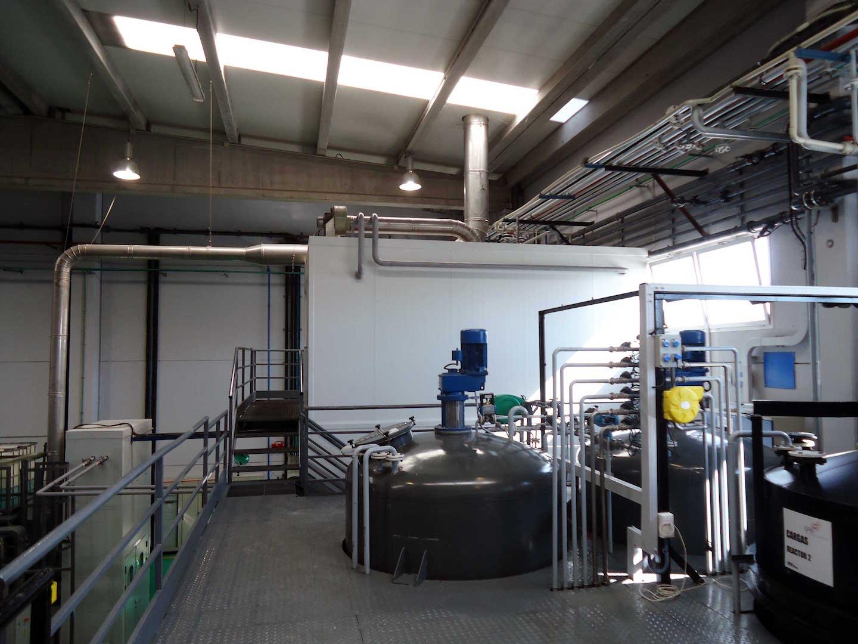 Dise o y montaje de instalaci n de planta de producto qu mico gomez madrid - Diseno de producto madrid ...