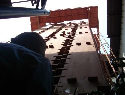 Montaje Torre de Esterilización